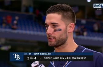 Kevin Kiermaier on his big HR, needing to play better
