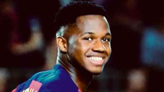 LIGA - Ansu Fati agrees to contract extension with €1 billion release clause