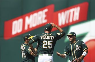 Athletics beat Astros 7-1 to move into tie for AL West lead