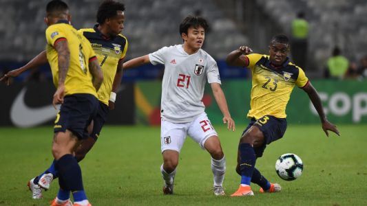 Ecuador's draw with Japan send Paraguay into quarters