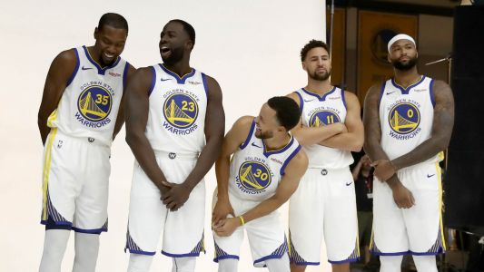 Klay Thompson: Team USA with five Warriors 'would be awesome'