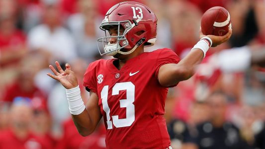 Dolphins eye Tua Tagovailoa in 2020 NFL Draft after Ryan Fitzpatrick deal, report says
