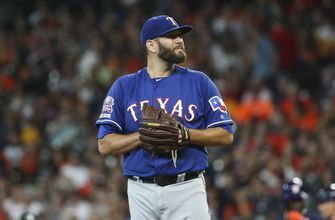 Lynn strikes out 12, Rangers lose 5-3 to Astros