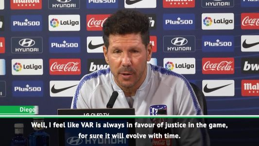 VAR improves justice on the pitch - Simeone
