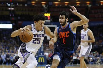 Sacramento tops Oklahoma City 131-120 in Westbrook's return from injury