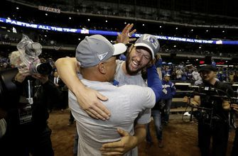 Beloved in Boston, Roberts returns for World Series with LA