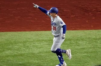 Joc Pederson smokes solo homer to give Dodgers 3-0 lead over Rays in Game 5