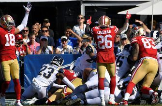 49ers shut down Rams to remain unbeaten, 20-7