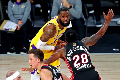 Opinion: LeBron James seizes moment in 'winning time' to put Lakers on brink of championship