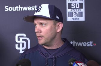 Andy Green names starting pitcher for Spring Training opener