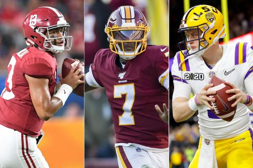 Redskins flirting with top NFL draft QBs in front of Dwayne Haskins