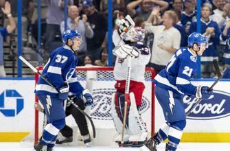 Lightning rout Blue Jackets, 8-2