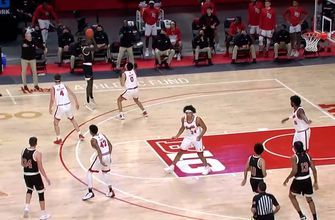 Lat Mayen's 25-point effort leads Nebraska to 72-51 win over Rutgers