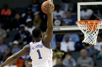 Zion Williamson throws down fierce dunk in his return to the court