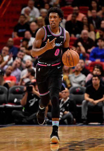 Heat forward Josh Richardson ejected for throwing shoe into stands