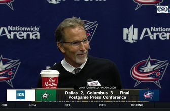 John Tortorella describes Sonny Milano's 'ridiculous' 'hell of a goal'