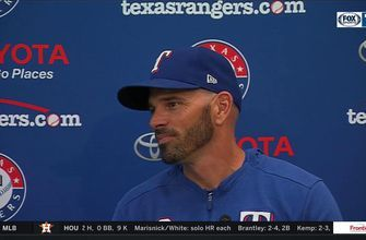 Chris Woodward talks Minor's Start vs. Mariners, Rangers Win