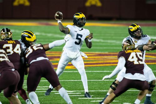Michigan vs. Michigan State line, prediction: Joe Milton giving Wolverines new hope