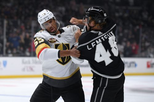 NHL fights from the 2021-22 season