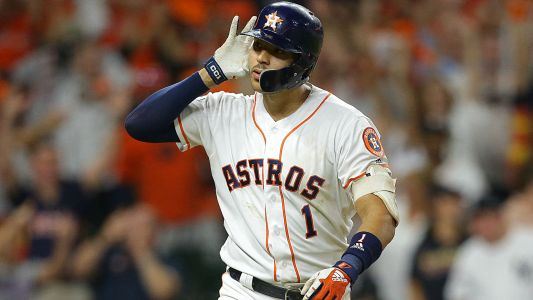 Astros' Carlos Correa mashes walkoff home run to Pluto, ties ALCS vs. Yankees