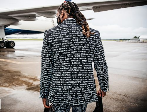 Tennessee Titans' Derrick Henry honors victims of racial injustice by wearing their names on his suit