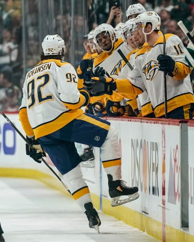Predators clinch playoff berth with win against Wild