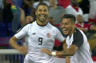 Costa Rica nets wild double header to open scoring in battle for Group B vs. Haiti | 2019 CONCACAF Gold Cup Highlights