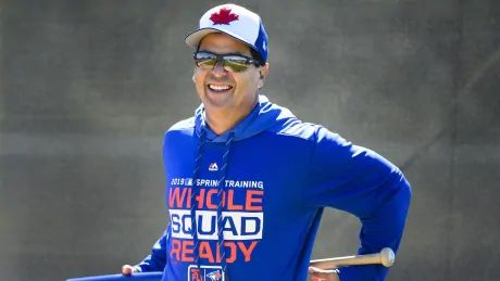 Jays manager Montoyo reminisces on Expos connection in return to Montreal