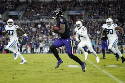 Lamar Jackson missed practice with an illness