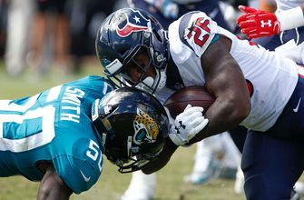 Blake Bortles benched after pair of fumbles in Jaguars' 20-7 loss to Texans
