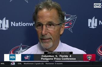 John Tortorella gives blunt assessment of 2nd-period effort vs. Panthers