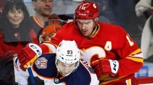 Flames use furious comeback to top Oilers in feisty Battle of Alberta