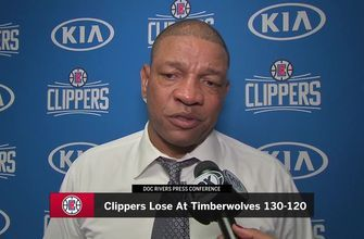 """Frustrated"" Doc Rivers speaks after Clippers loss in Minnesota"