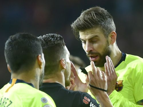 'When referees help Madrid they shut up' - Pique slams Real's officiating complaints