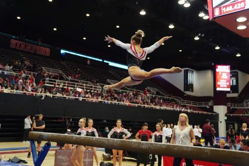 Merrell-Giles, Skinner lead Utah gymnastics to 197.125-195.80 win at Stanford