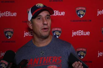 Panthers coach Bob Boughner on keeping players fresh