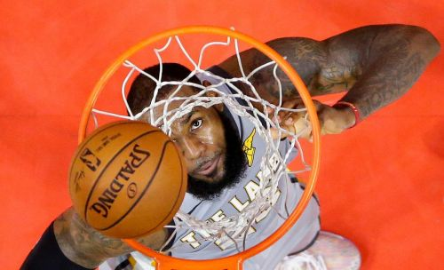 It's LeBron vs. the Heat in the NBA Finals, if only James would warm up to the narrative