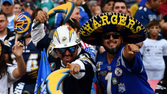 WATCH: Chargers fans everywhere go crazy after beating Chiefs