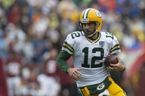 Rodgers dealing with 'setback' to knee