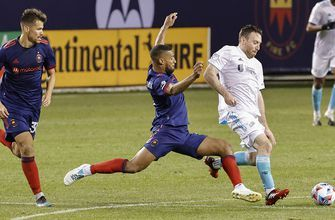 New England Revolution erase two-goal deficit to earn 2-2 draw vs. Chicago Fire