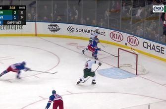 WATCH: Wild halt drought, score four goals to top Rangers