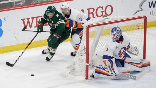 Nelson scores early in OT, Islanders beat Wild 3-2