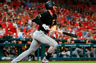 Pirates score twice in the 9th to edge Cardinals 3-1