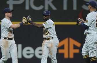 Brewers build early lead and hold off Pirates for 7-1 win