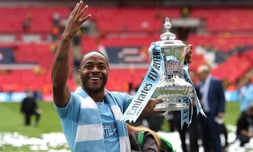 Sterling: Winning trophies at Wembley a dream come true