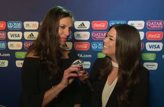 Carli Lloyd on USWNT's FIFA Women's World Cup Draw: 'It's going to be tough, it's going to be challenging'