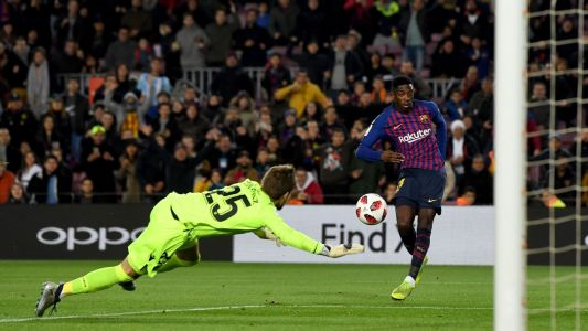 Ousmane Dembele, Lionel Messi team up to comfortably overturn Levante's first-leg Copa lead