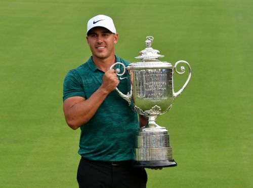 Coming off win, Brooks Koepka isn't feeling the pressure of being No. 1