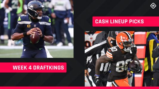 Week 4 DraftKings Picks: NFL DFS lineup advice for daily fantasy football cash games