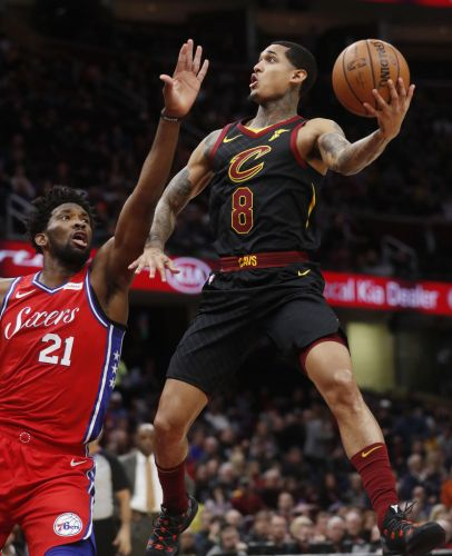Cleveland Cavaliers rule out Jordan Clarkson Tuesday night against Indiana; Larry Nance Jr. to start at center